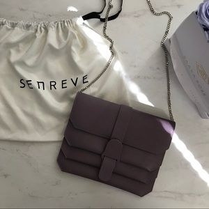 Senreve Bags - Senreve Pebbled Leather Crossbody Bag